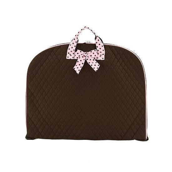 Brown with Pink Garment / Hanging Bag - inthisveryroom