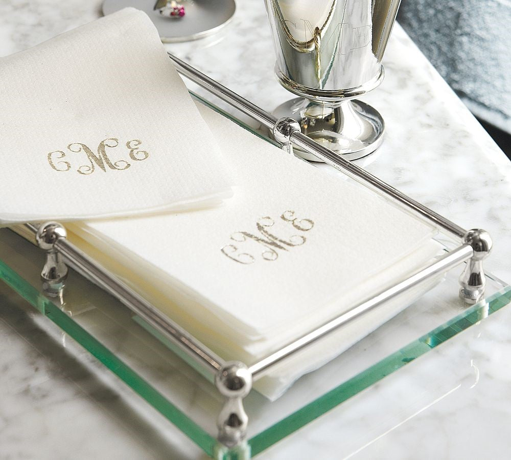 Linen-Like Disposable Guest Towels