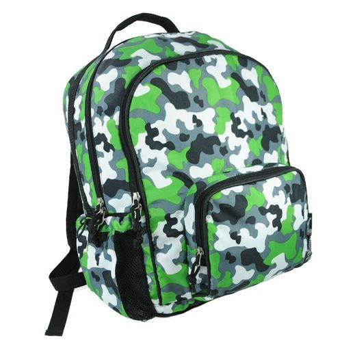 *SOLD OUT* Camo School Backpack - inthisveryroom