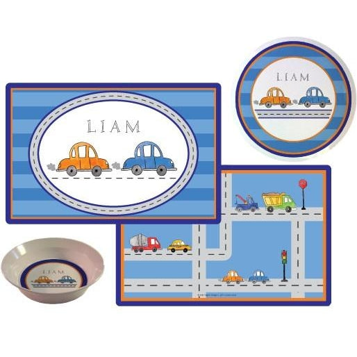 Vroom Vroom! Kids' Dish Set