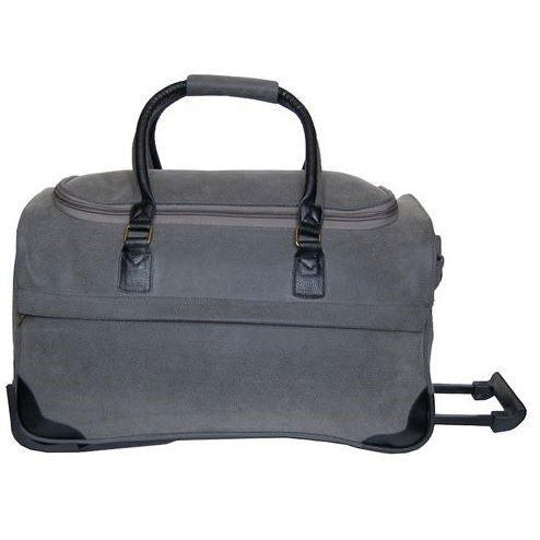 "*SOLD OUT* Rolling Duffle 21"" - Grey ScotchGrain - inthisveryroom"