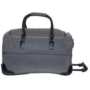"*SOLD OUT* Rolling Duffle 21"" - Grey ScotchGrain"