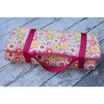 Pink Posey Nap Mat by Swankie Blankie