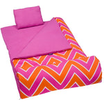 Chevron Pink Sleeping Bag