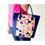 Beach Floral Cooler Bag