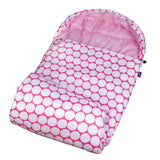 *SOLD OUT* Big Pink Dots Stay Warm Sleeping Bag - inthisveryroom