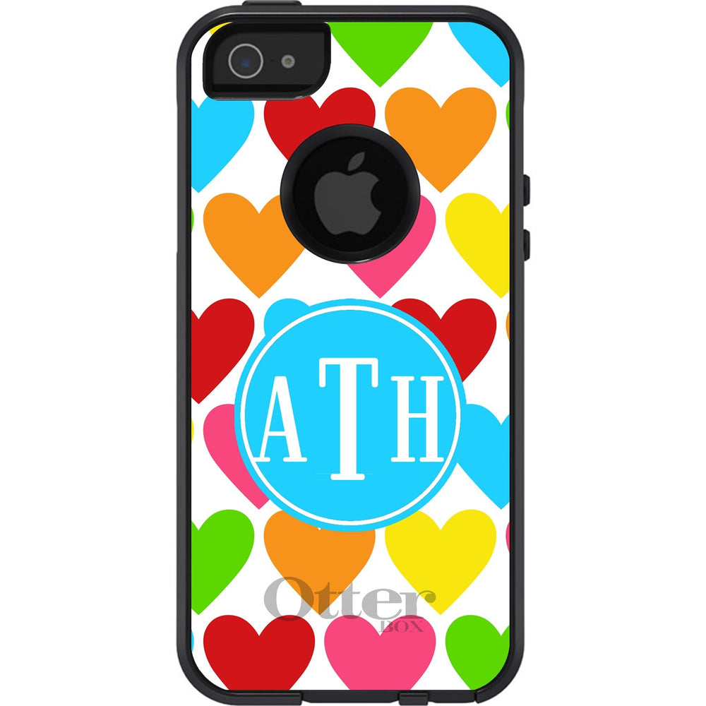 Personalized Hearts Otterbox Case
