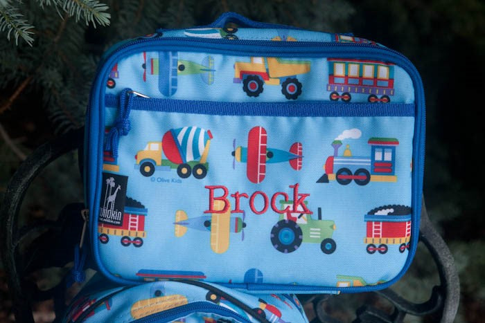 *SOLD OUT* Planes,Trains & Trucks Lunch Kit - inthisveryroom
