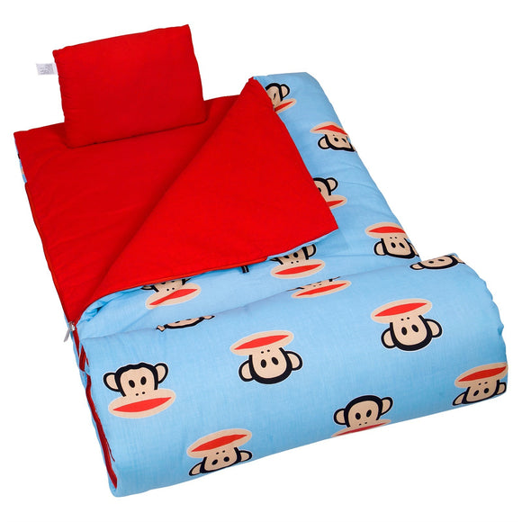 Monogrammed Paul Frank Sleeping Bag