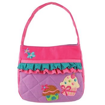 Cupcake Quilted Purse