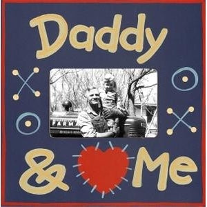 Daddy & Me Picture Frame