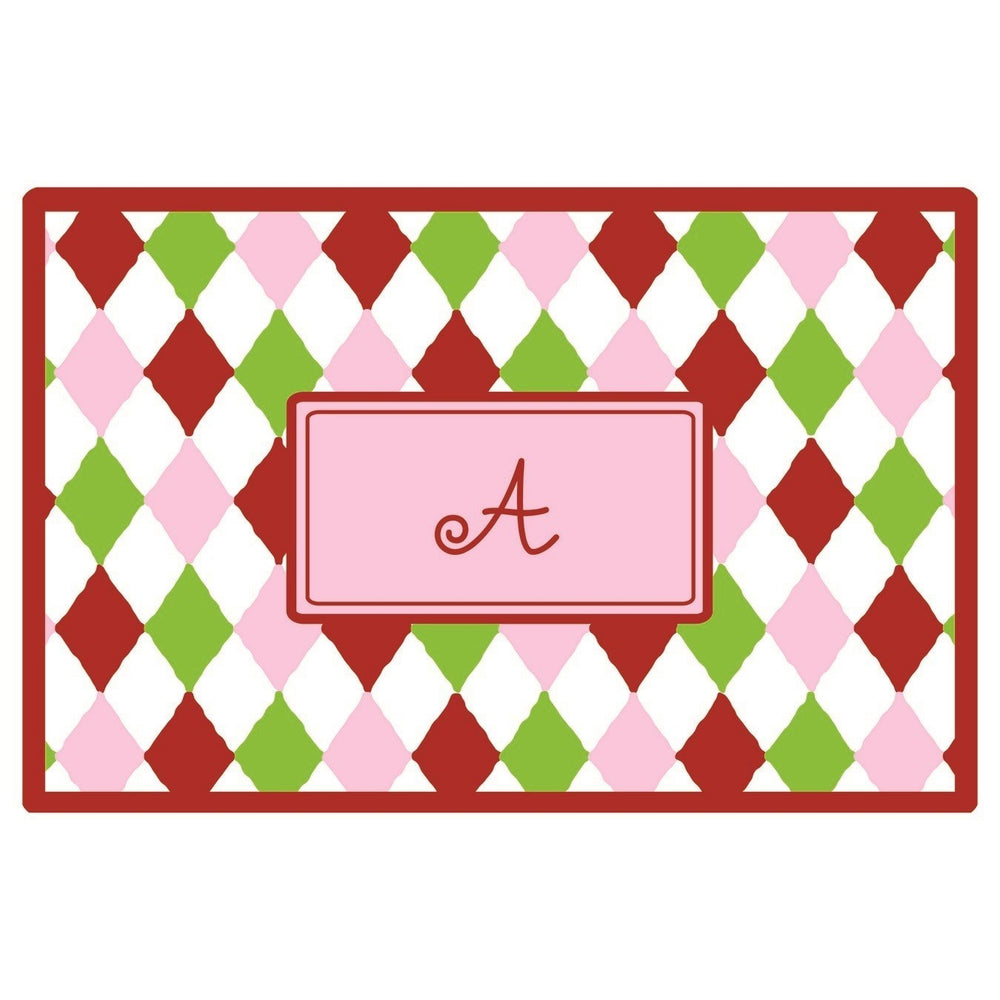 Personalized Placemat - Harlequin