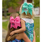 Personalized Hair Bows for Girls