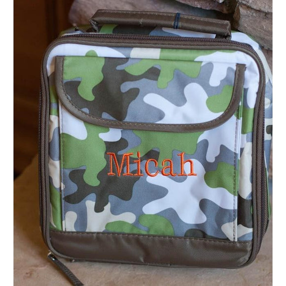 *SOLD OUT* Camo Lunch Bag by Room.It.Up - inthisveryroom