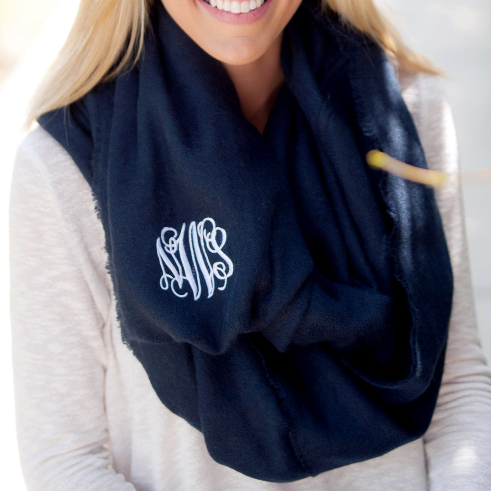Personalized Blanket Scarves - Many Colors!