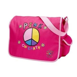 Pink On Earth Messenger Bag
