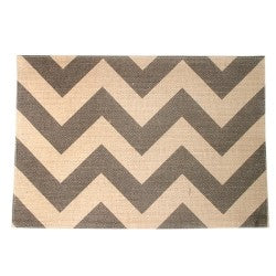 *SOLD OUT* Chevron Stripes Placemats - inthisveryroom
