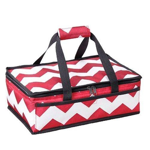 *SOLD OUT* Chevron Stripes Casserole Carrier - inthisveryroom