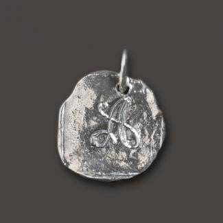 Silver Baby Charm by Waxing Poetic