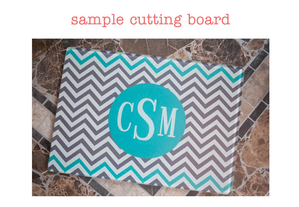 Classy Twists Cutting Board - Many Colors!
