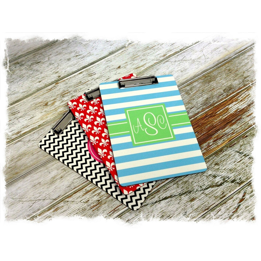 Monogrammed Clipboards!