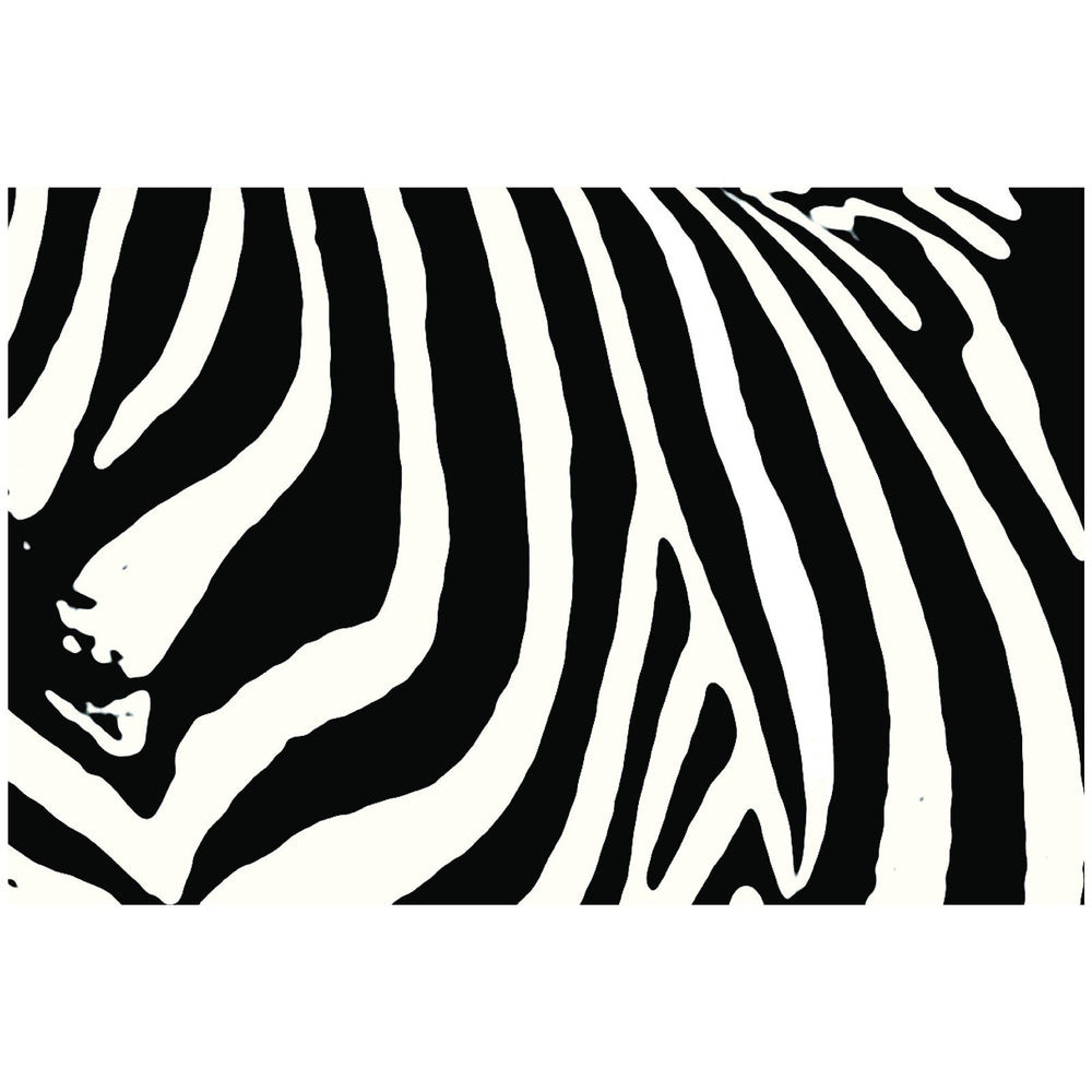 Zebra Chevron Disposable Placemats