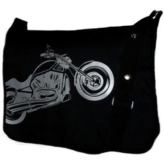 Biker Messenger Bag by Four Peas