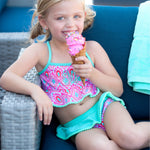 Beachy-Keen Swim Suit for Little Girls