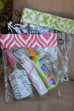 Clear Bags  - Several Patterns & Sizes!