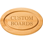 Custom Logo Cutting Boards - Engraved
