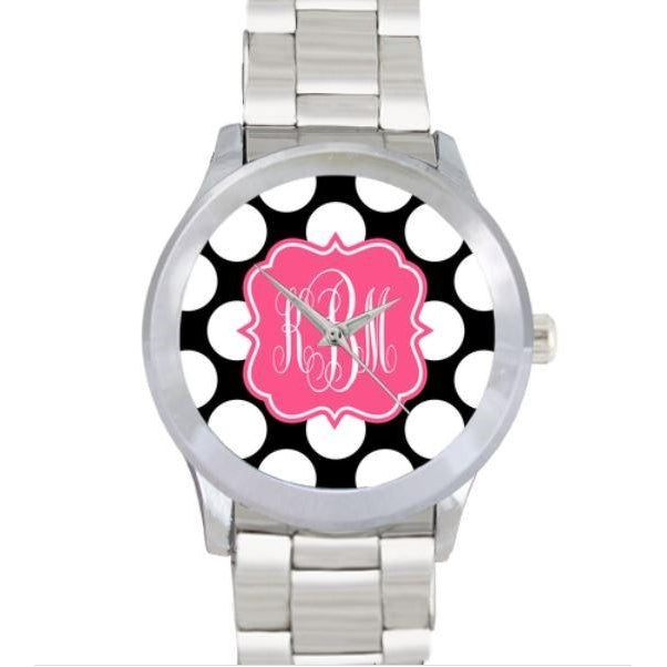 Polka Dots Watch - Stainless Steel