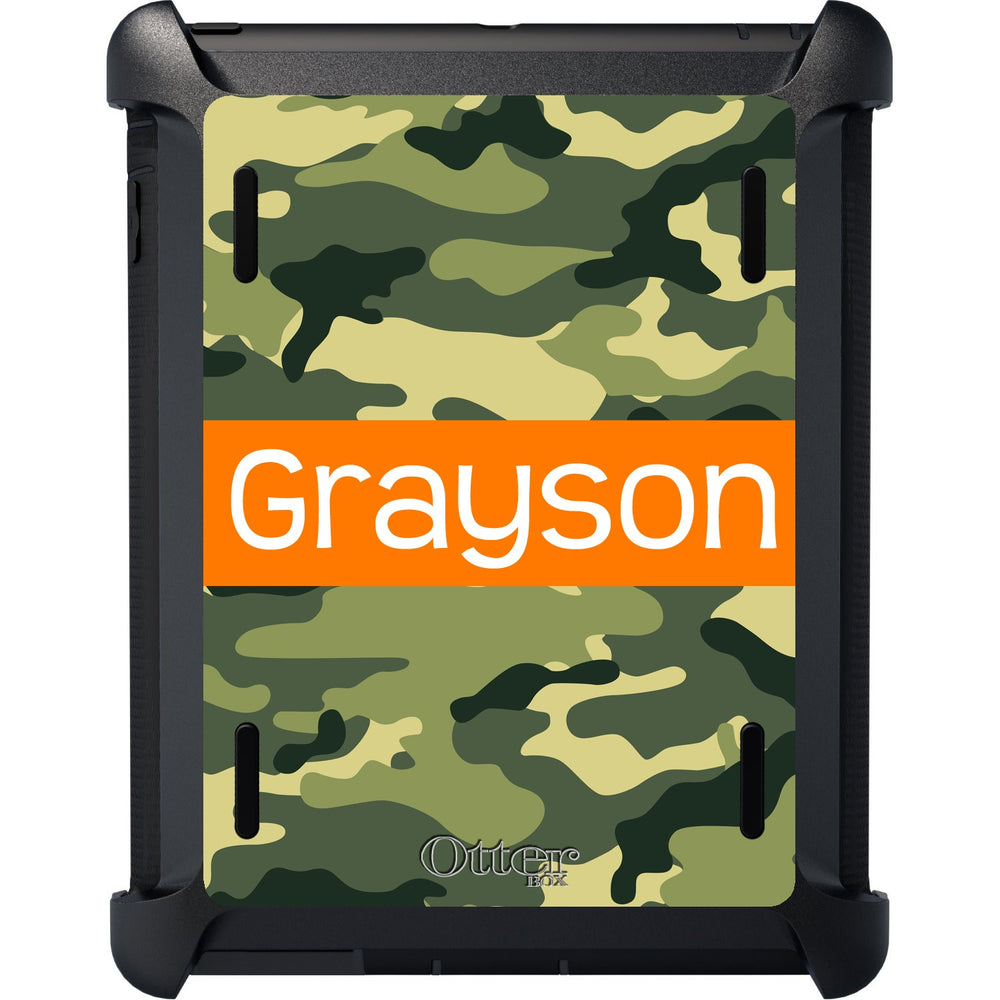 Camo iPad Otterbox Defender Case