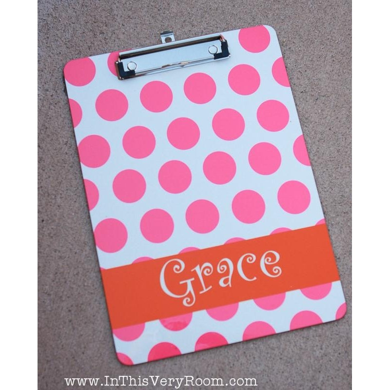 Polka Dots - Clipboard