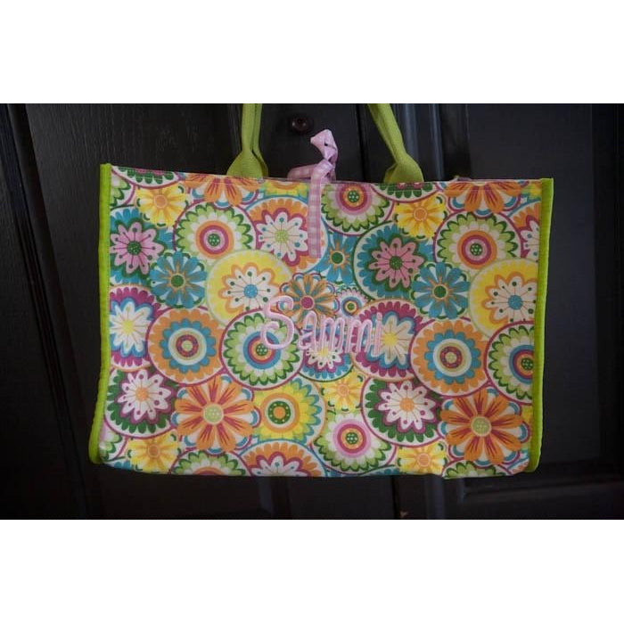*SOLD OUT* Haute Floral Box Tote - inthisveryroom