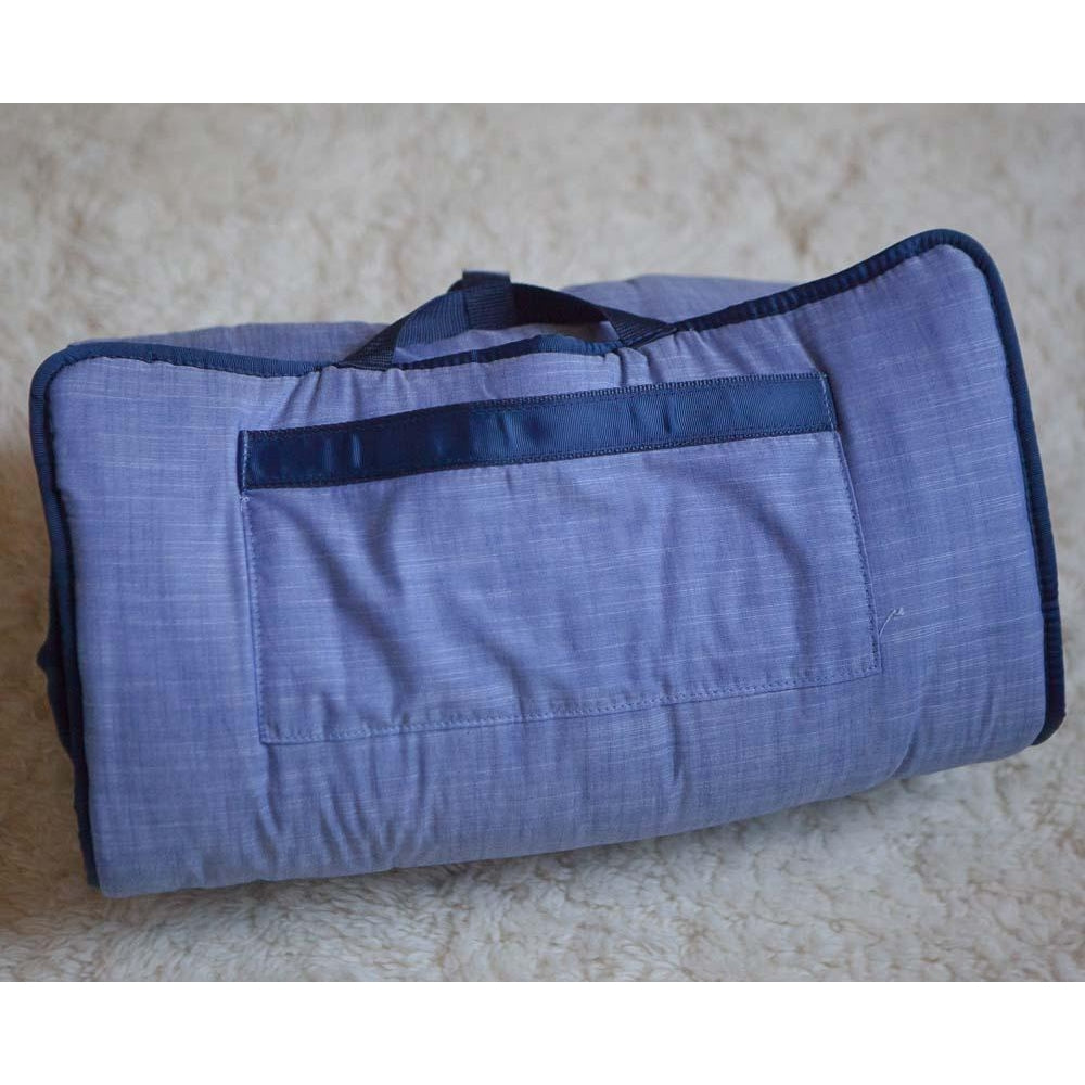 Blue Chambray Nap Mat
