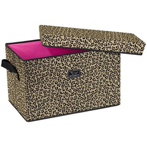*SOLD OUT* Rump Roost - Large Bin with Lid - Leopard - inthisveryroom