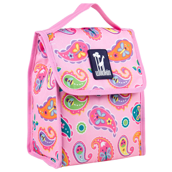 paisley lunch bag for girls