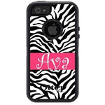 Personalized Zebra Otterbox Case