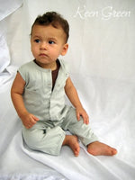 L'Oved Baby Sleeveless Overalls