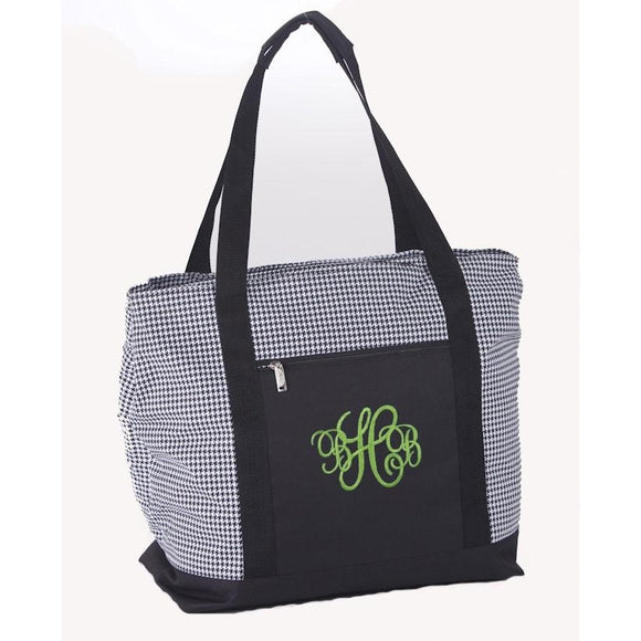 Houndstooth 2-in-1 Cooler Bag