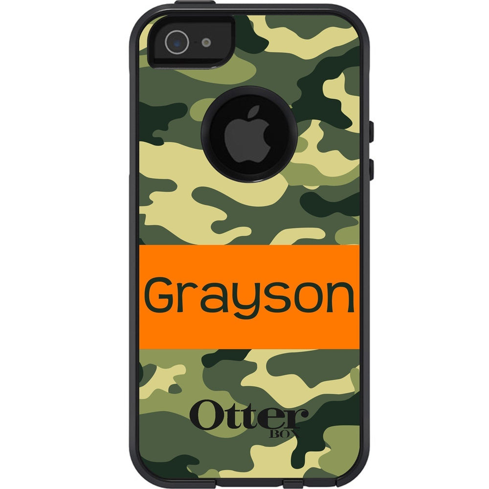 Personalized Camo Otterbox Case for Kids