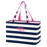 *ALMOST GONE* Ultimate Tote Bag - Navy Striped - inthisveryroom