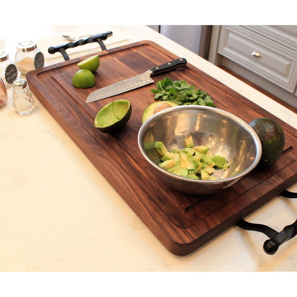 Personalized Large Wood Rectangle Cutting Board