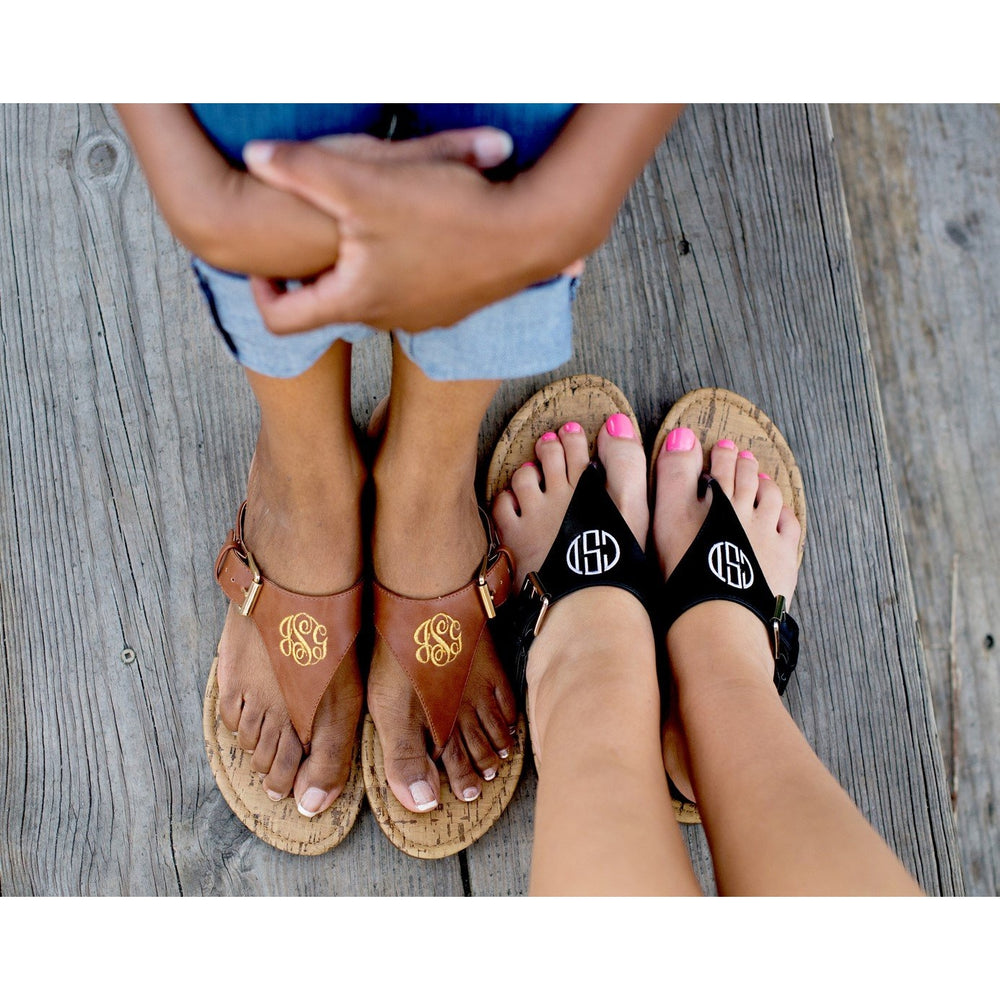 Brown or Black Sandals for Women