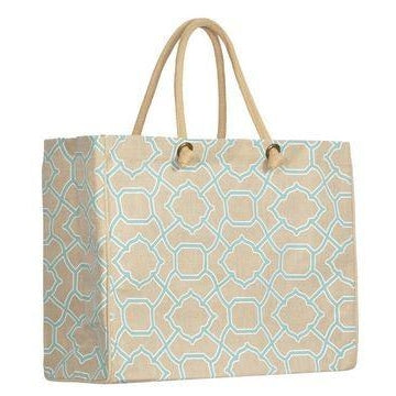 *SOLD OUT* Trellis Jute Totes - inthisveryroom