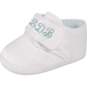 Monogrammed Baby Boy Shoes