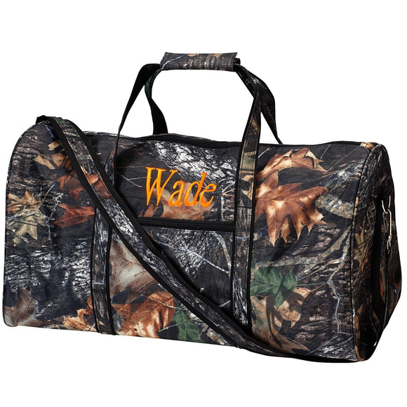 Personalized Camo Woods Duffel Bag for Boys