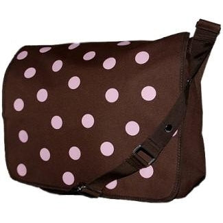 Polka Dot Messenger Bag by Four Peas