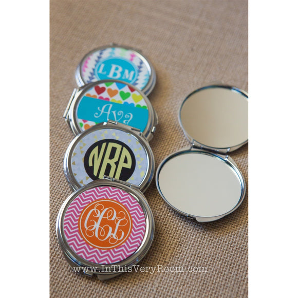 Compact Mirrors - Customize a set of 2!