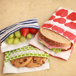 *Only PINK FLOWER*  Lunchskins: Sandwich Size Set/2 - inthisveryroom